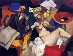 Roger De la Fresnaye Married Life - Canvas Art Print