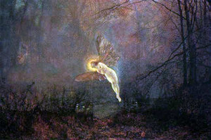 John Atkinson Grimshaw A Midsummer Night - Canvas Art Print
