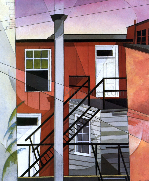 Charles Demuth Modern Conveniences - Canvas Art Print