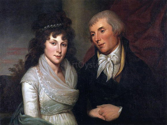 Charles Willson Peale Mr. and Mrs. Alexander Robinson - Canvas Art Print