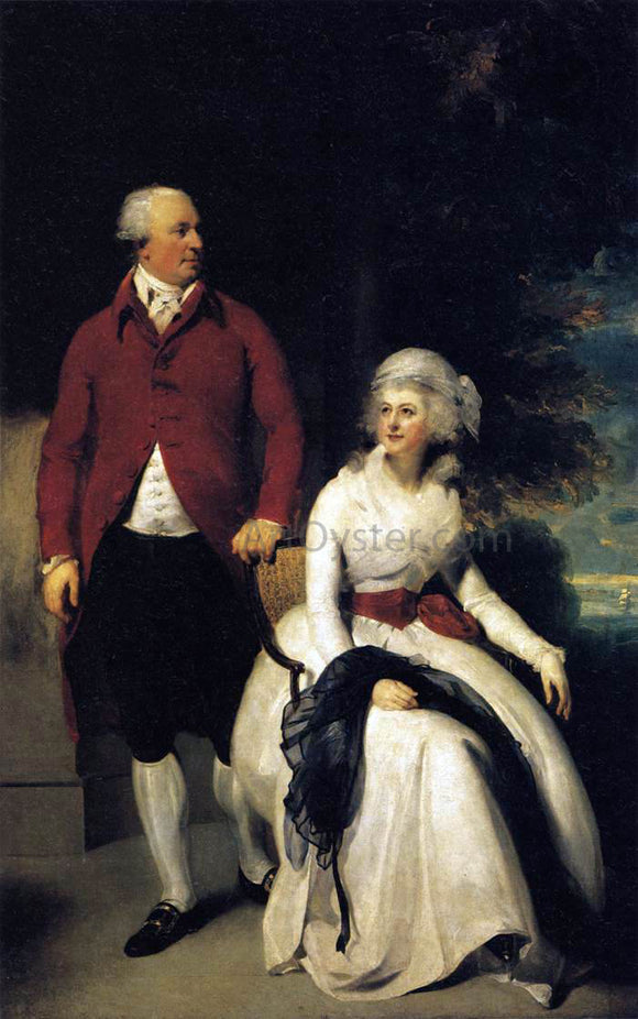 Sir Thomas Lawrence Mr and Mrs John Julius Angerstein - Canvas Art Print