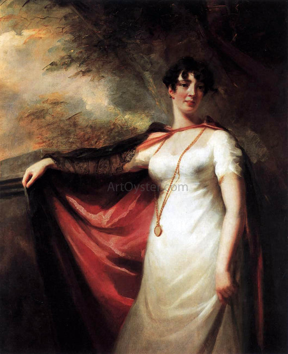 Sir Henry Raeburn Mrs. Anne Hart - Canvas Art Print