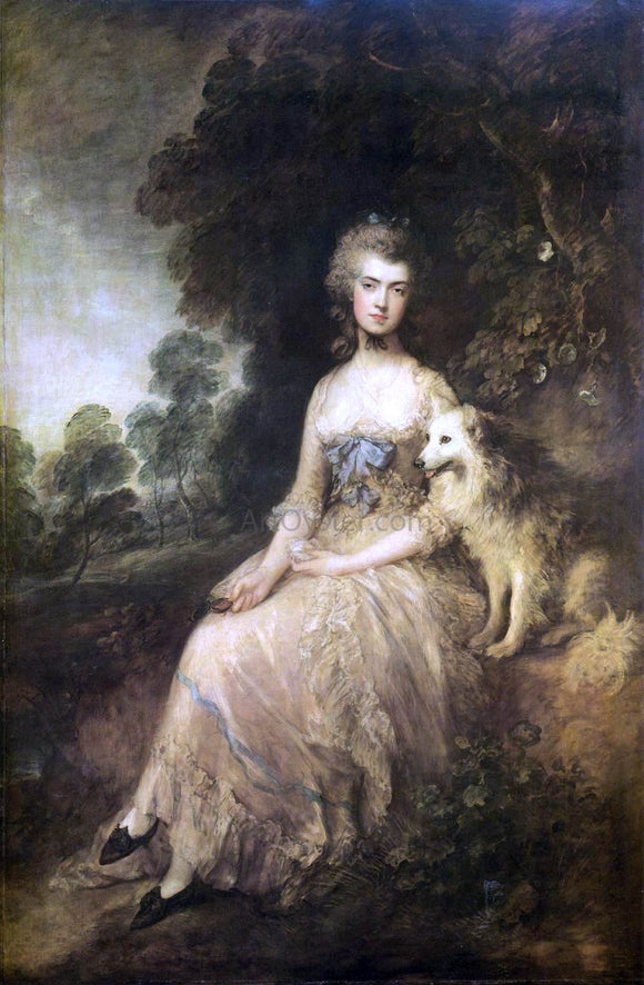 Thomas Gainsborough Mrs. Mary Robinson (