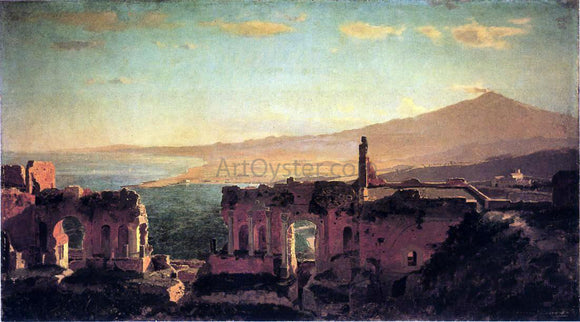William Stanley Haseltine Mt. Aetna from Taormina - Canvas Art Print