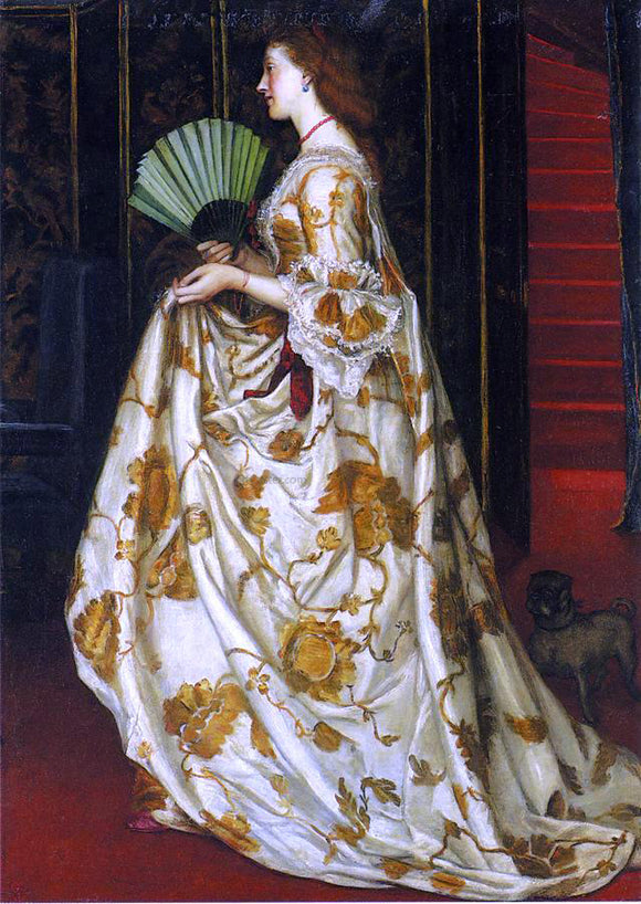 Valentine Cameron Prinsep My Lady Betty - Canvas Art Print