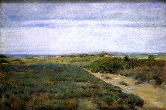 William Merritt Chase Near the Sea (also known as Shinnecock) - Canvas Art Print