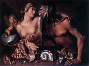Jacob De II Gheyn Neptune and Amphitrite - Canvas Art Print