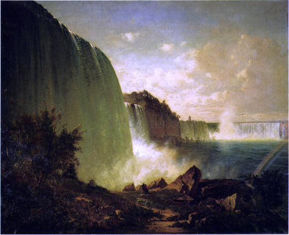 Thomas Hill Niagara Falls - Canvas Art Print