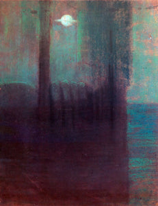 Mikalojus Ciurlionis Night - Canvas Art Print