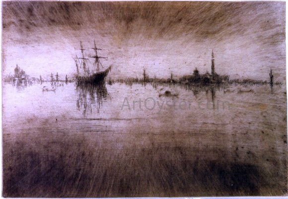 James McNeill Whistler Nocturn - Canvas Art Print