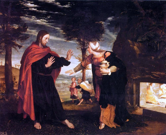 The Younger Hans Holbein Noli Me Tangere - Canvas Art Print