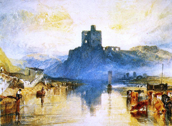 Joseph William Turner Norham Castle, on the Tweed (for