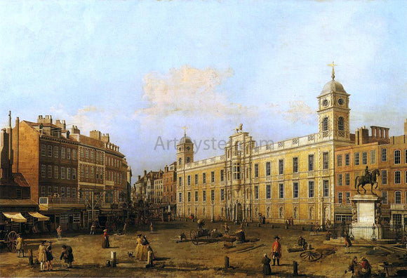 Canaletto Northumberland House - Canvas Art Print