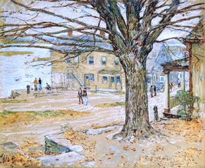 Frederick Childe Hassam November, Cos Cob - Canvas Art Print