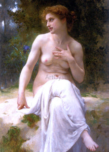 Guillaume Seignac A Nymphe - Canvas Art Print
