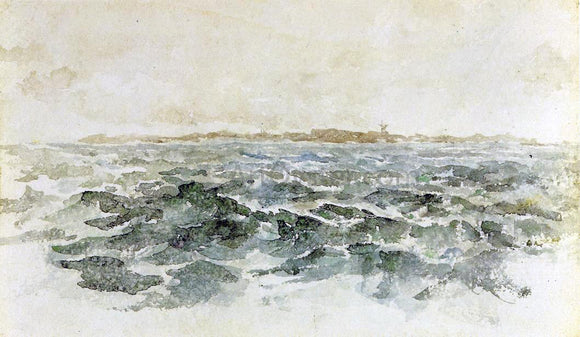 James McNeill Whistler Off the Dutch Coast - Canvas Art Print