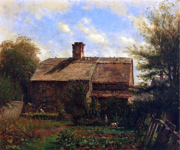 Thomas Worthington Whittredge Old House, Westport - Canvas Art Print
