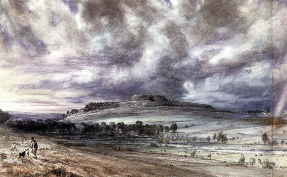 John Constable Old Sarum - Canvas Art Print