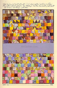Paul Klee Once Emerged from the Gray of Night - Canvas Art Print