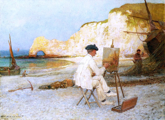 William H Lipincott Outdoor Work - Canvas Art Print