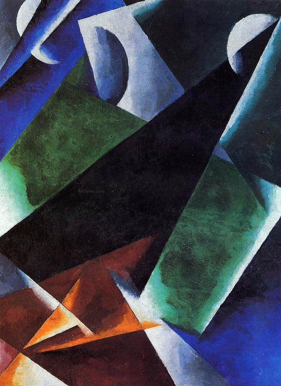 Liubov Popova Painterly Architectonic - Canvas Art Print