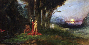 Gustave Moreau Pasiphae and the Bull - Canvas Art Print
