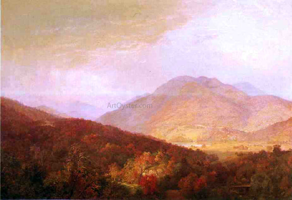William Trost Richards Passing Autumn Rain - Canvas Art Print