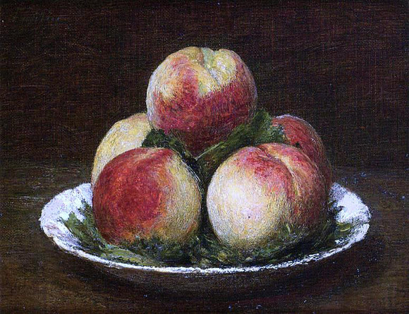 Henri Fantin-Latour Peaches - Canvas Art Print
