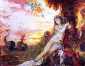 Gustave Moreau Perseus and Andromeda - Canvas Art Print