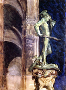 John Singer Sargent Perseus by Night - Canvas Art Print