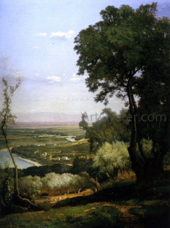 George Inness Perugia - Canvas Art Print