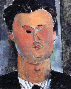 Amedeo Modigliani Pierre Reverdy - Canvas Art Print