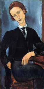 Amedeo Modigliani Pierre-Edouard Baranowski - Canvas Art Print