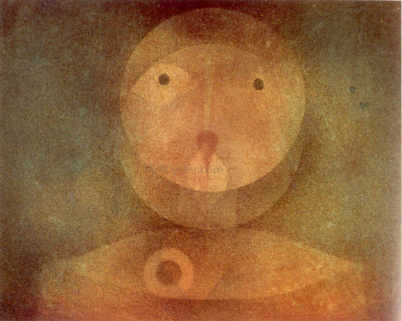 Paul Klee Pierrot Lunaire - Canvas Art Print