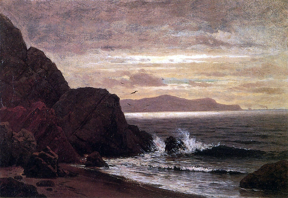 Raymond Dabb Yelland Point Lobos from Fort Point - Canvas Art Print