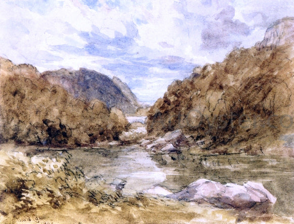 David Cox Pont-Y-Pair, near Bettwys-Y-Coed, North Wales - Canvas Art Print