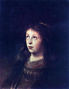 Jan Lievens Portrait of a Girl - Canvas Art Print