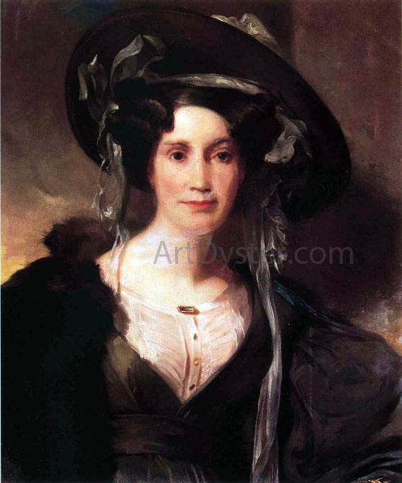 Thomas Sully Portrait of a Lady - Canvas Art Print