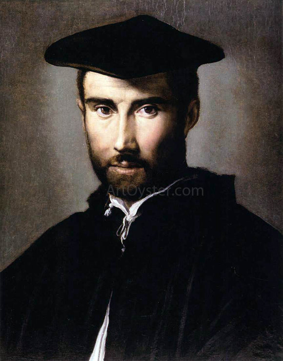 Parmigianino Portrait of a Man - Canvas Art Print