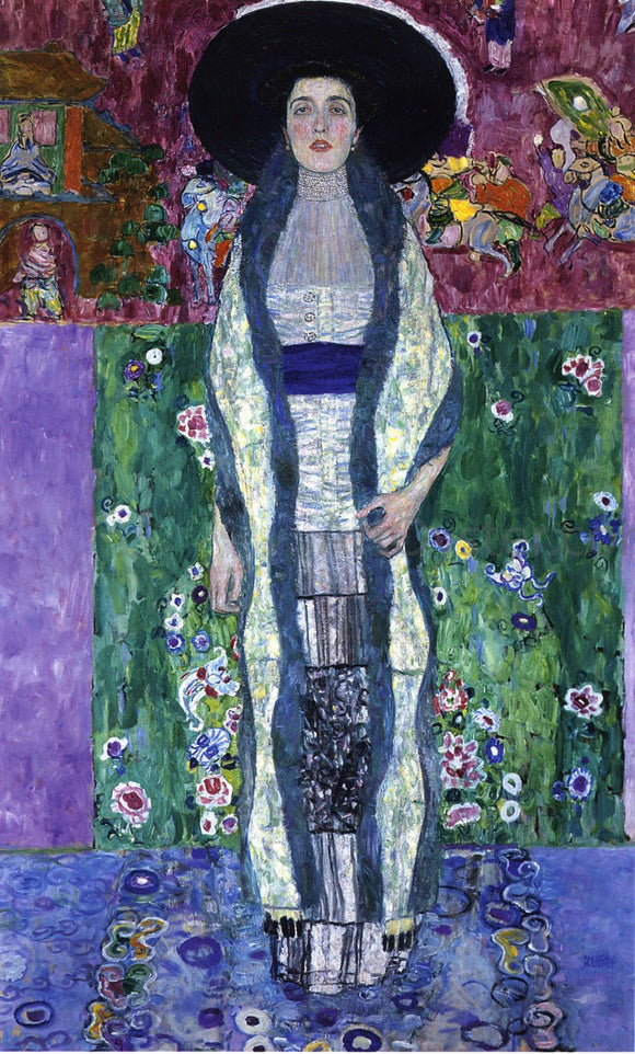Gustav Klimt Portrait of Adele Bloch-Bauer II - Canvas Art Print