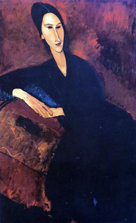 Amedeo Modigliani Portrait of Anna Zborowska - Canvas Art Print