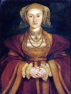 The Younger Hans Holbein Portrait of Anne of Cleves - Canvas Art Print