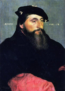 The Younger Hans Holbein Portrait of Duke Antony the Good of Lorraine - Canvas Art Print