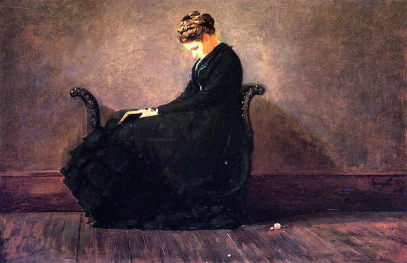 Winslow Homer Portrait of Helena de Kay - Canvas Art Print