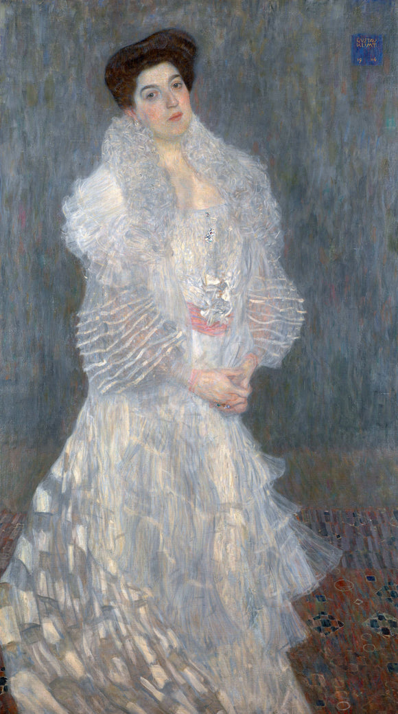 Gustav Klimt Portrait of Hermine Gallia - Canvas Art Print