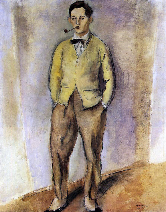 Jules Pascin Portrait of Jean Oberle - Canvas Art Print