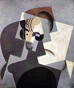 Juan Gris Portrait of Josette - Canvas Art Print