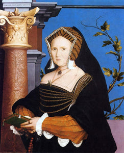 The Younger Hans Holbein Portrait of Lady Guildford - Canvas Art Print