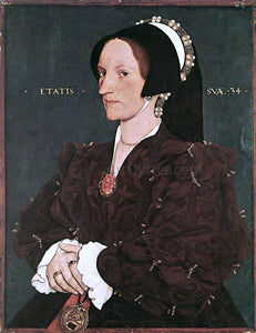 The Younger Hans Holbein Portrait of Margaret Wyatt, Lady Lee - Canvas Art Print