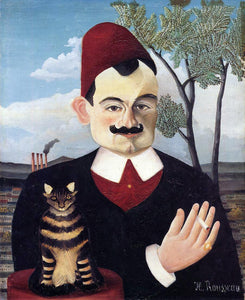 Henri Rousseau Portrait of Monsieur X. (Pierre Loti) - Canvas Art Print